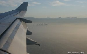 Aterrizaje en Los Ángeles