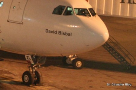 Airbus 330 David Bisbal