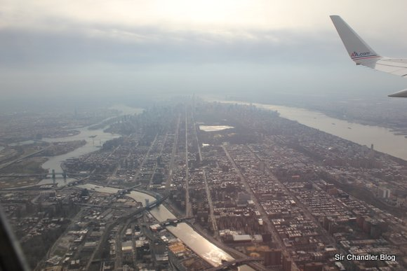 Despegando desde Nueva York (fotos)