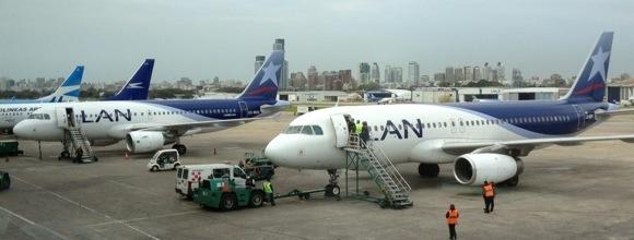 Airbus 319 y 320 en Aeroparque