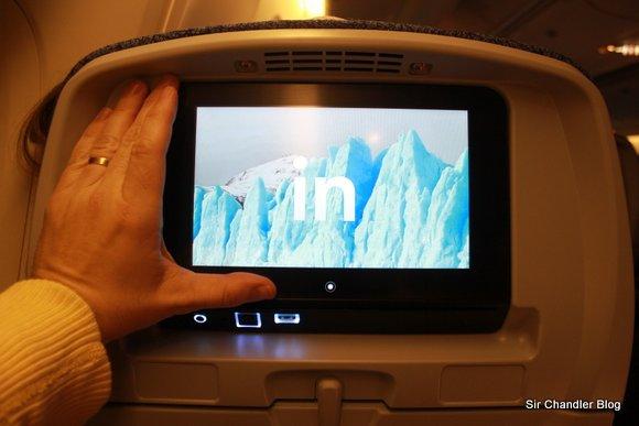 El sistema de entretenimiento de los nuevos aviones de LAN