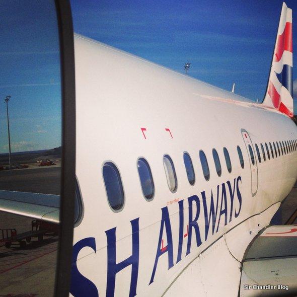 Volando a Londres desde Madrid por British (crónica del vuelo)
