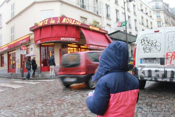 Amélie y el Café des 2 moulins