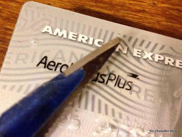 Dando de baja la American Express ArPlus