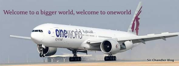 Qatar entró en OneWorld y da doble millaje en LAN, AA y el resto de la alianza