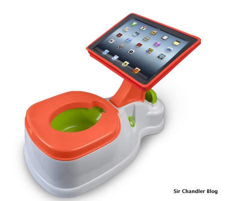 Pelela con porta iPad de oferta #alosbotes