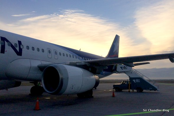 Volando a Mendoza por LAN. Crónica del vuelo