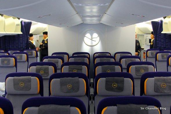 Análisis del Boeing 747-8i de Lufthansa en vuelo a Washington (parte II/II)