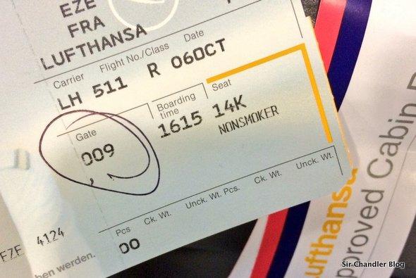 Arrancando el viaje con y de Lufthansa