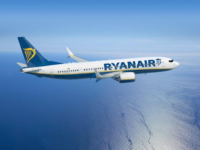 Aprobaron el Boeing 737 Max para Ryanair que lleva 197 pasajeros