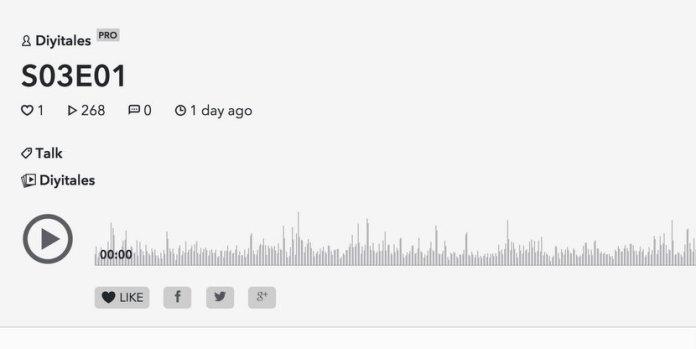 Un podcast charlando sobre internet, el blog y sus particularidades