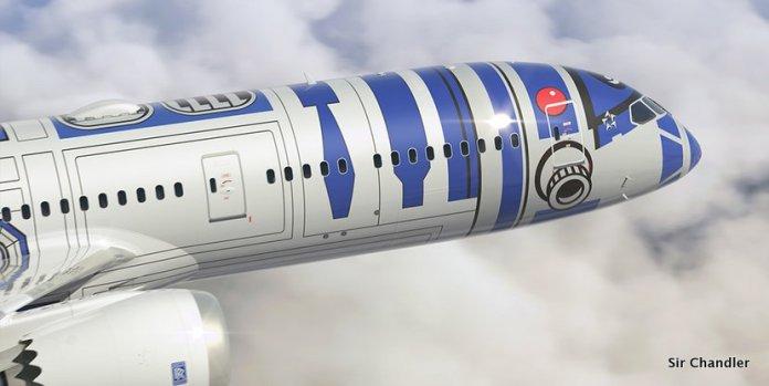 El avión de Star Wars