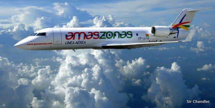 La aerolínea boliviana Amaszonas sigue creciendo