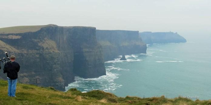 Los acantilados de Moher (Irlanda)