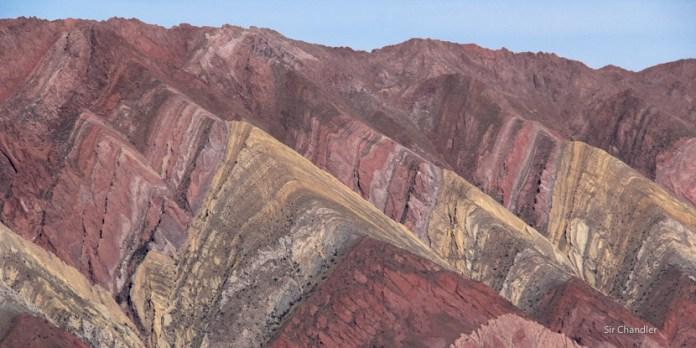 El cerro de los 14 colores en Jujuy