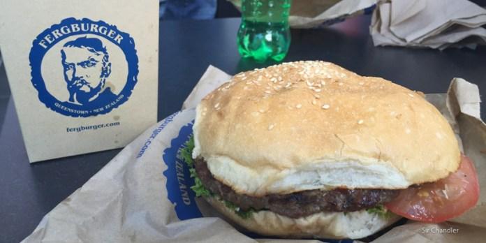 Fergburguer, famosas hamburguesas de Queenstown, Nueva Zelanda