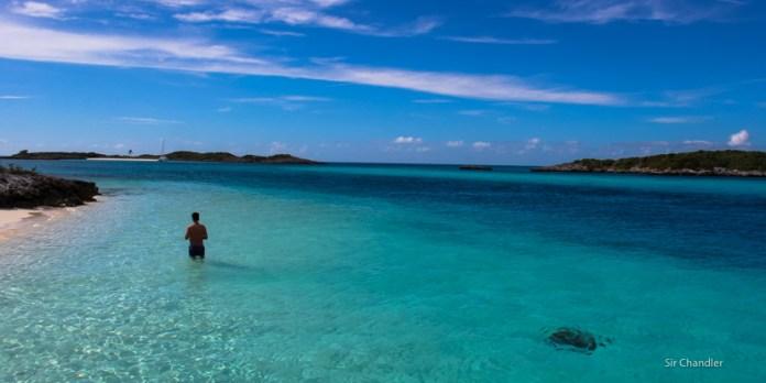 Un paseo por islas de Bahamas