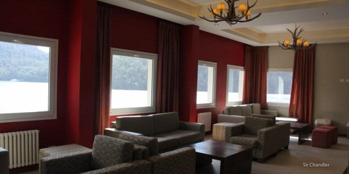 El renovado hotel de Puerto Blest en Bariloche