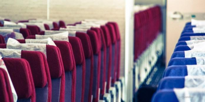 La calificación de asientos de los aviones que hacen en Brasil