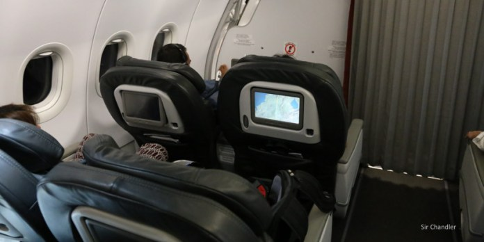 Dos vuelos en business de Avianca en Airbus 320 y 319