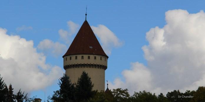 El castillo de Franz Ferdinand cerca de Praga