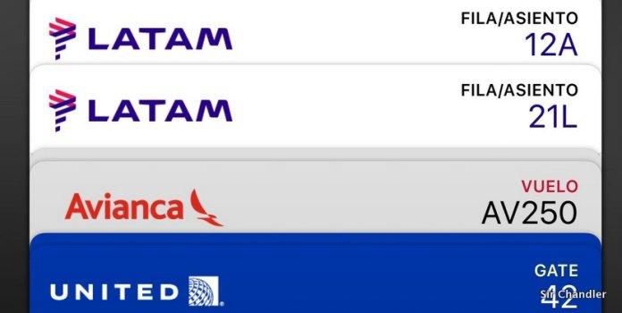 ¿Cómo poner los boarding de LATAM en la aplicación wallet?