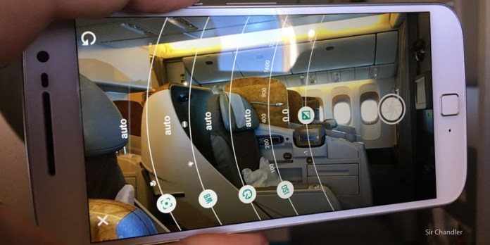La cámara del nuevo Moto G4 plus