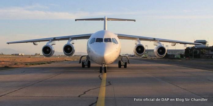La aerolínea DAP vuelve a volar a Ushuaia y busca más destinos argentinos