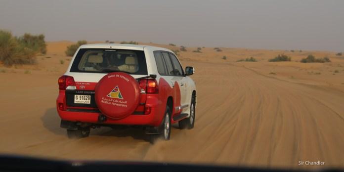 Una excursión por el desierto de Dubai