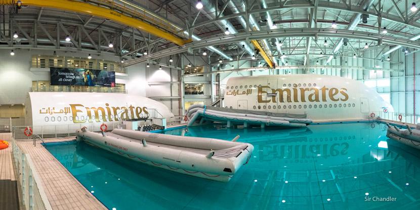 Visitando el centro de entrenamiento de Emirates en Dubai