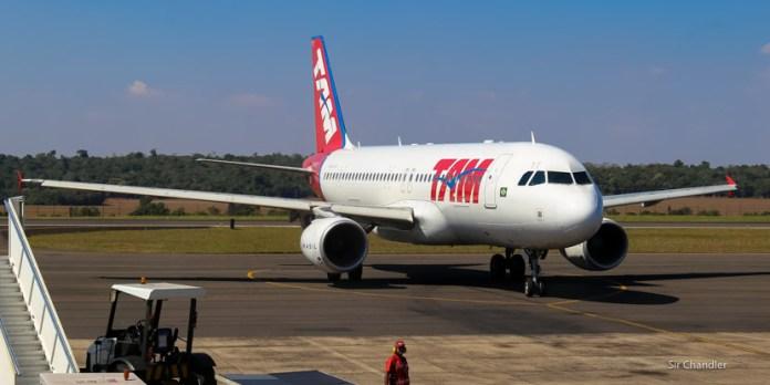 Vuelo Aeroparque – Iguazú – Foz – San Pablo con LATAM