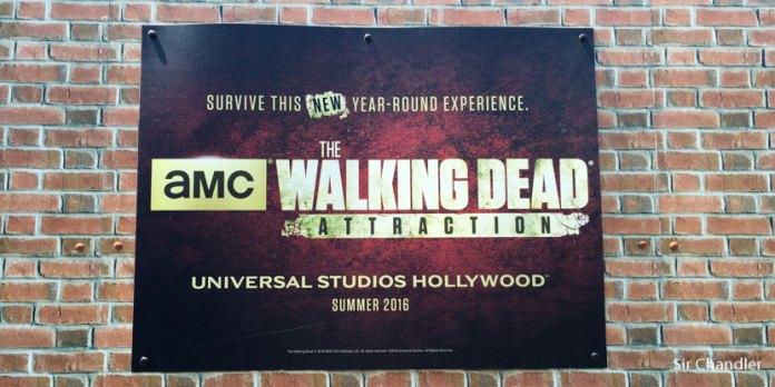 La atracción de The Walking Dead en Los Ángeles