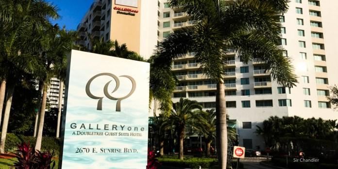El hotel GALLERYone – a DoubleTree Suites en Fort Lauderdale