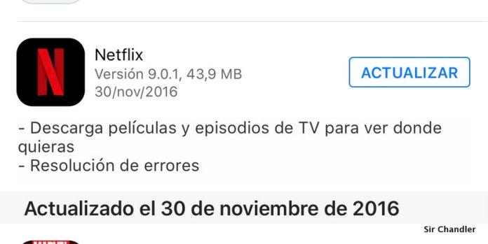 Netflix permite ahora descargar películas y series (ideal para viajes)