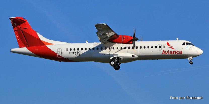 Ya está volando el primer ATR 72 de Avianca Argentina