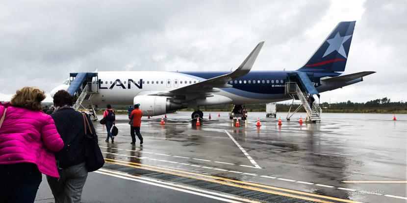 Volando desde Chiloé con LATAM hacia Buenos Aires