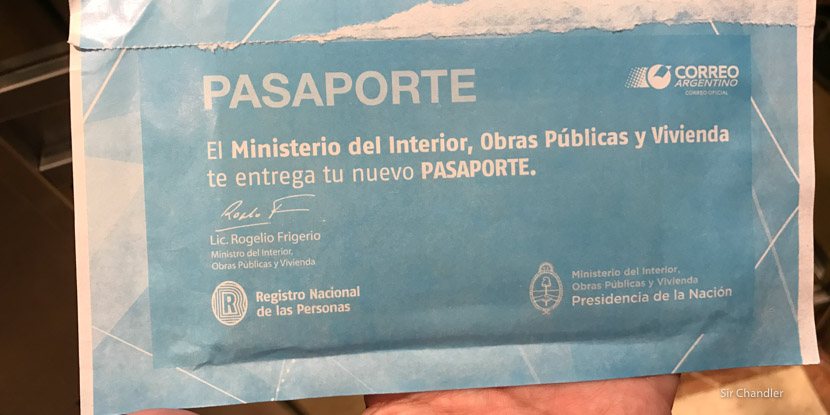 Hacer el pasaporte express