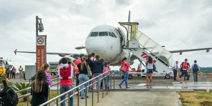 Cositas de nuestro cruce familiar a Foz do Iguaçu para tomar el vuelo europeo