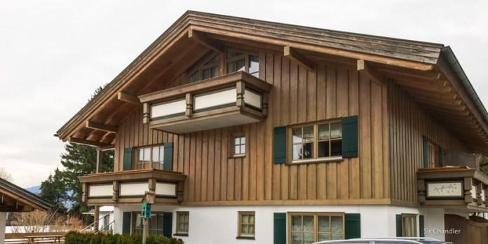 El encantador hotel de un pueblo alemán
