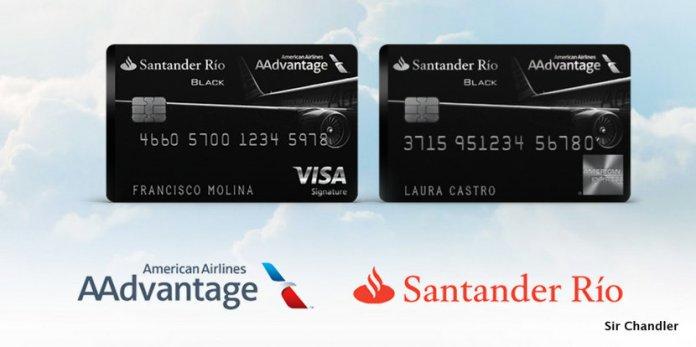 Detalles de AAdvantage con el Santander Rio