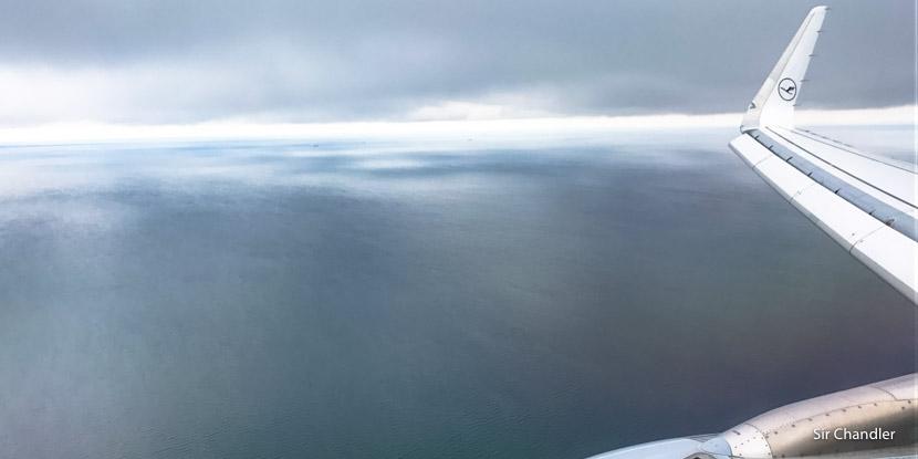 El vuelo entre Frankfurt y Copenhague con Lufthansa