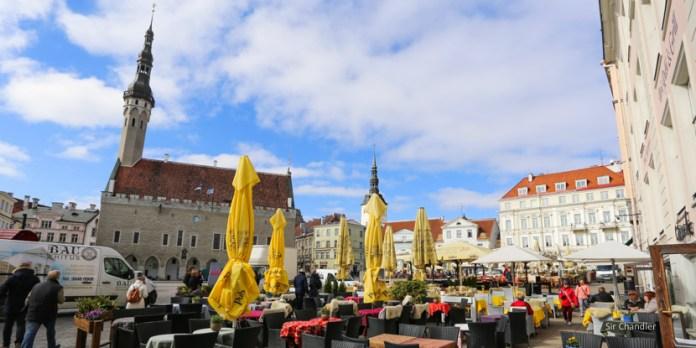 Un paseo por Tallin, Estonia