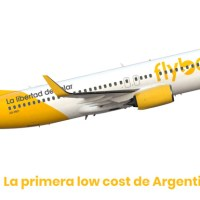 El primer avión de Flybondi en proceso de pintura (un ex Ryanair y Nok Air)