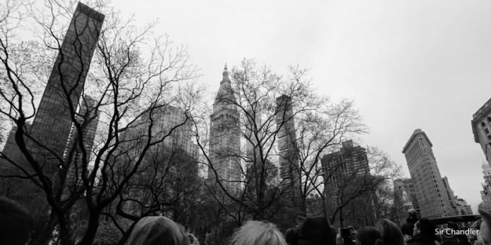Viajando a Nueva York para ser parte del vuelo inaugural de United
