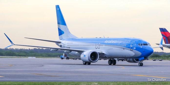 Aerolíneas Argentinas aumenta frecuencias a Madrid, Cancún y Punta Cana