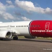 Llegó el primer 737 de Norwegian Argentina