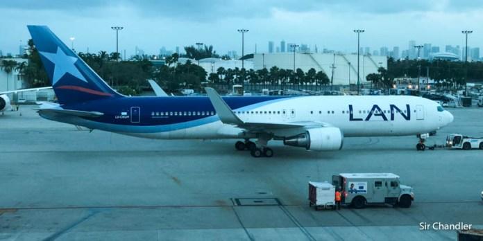 Vuelo desde Miami a Buenos Aires con el 767 de Latam Argentina