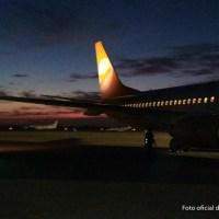 Llegó Hachiko, el segundo avión de Flybondi
