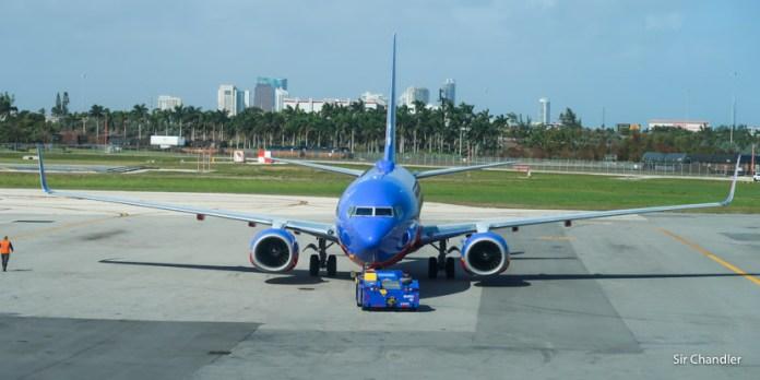 Crónica de vuelo por Southwest entre Fort Lauderdale y Atlanta