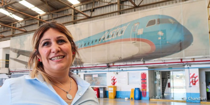 Elisabeth Policastro – mecánica de Embraer 190